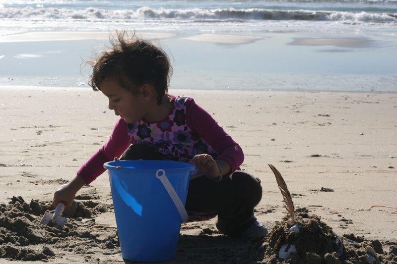 Selah at the beach